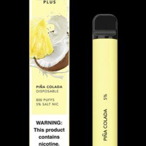Peach Ice - Puff Bar Plus - Premium THC Vapes